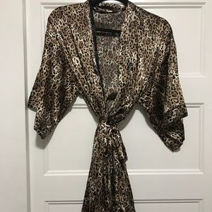 Victoria Secret Silk Robe
